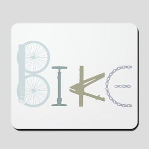 Bike Word from Bike Parts Mousepad