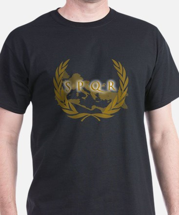 Roman Empire Banner SPQR T-Shirt