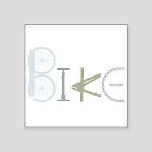 Bike Word from Bike Parts Sticker