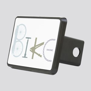 Bike Word from Bike Parts Rectangular Hitch Cover