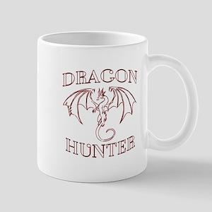 Dragon Hunter Black Mugs