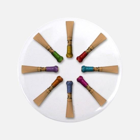 """Bassoon Reeds 3.5"""" Button"""
