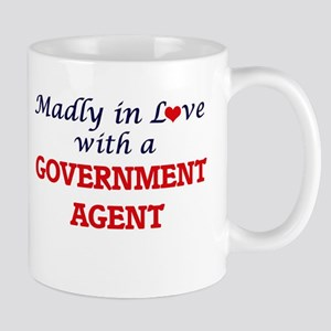 Madly in love with a Government Agent Mugs