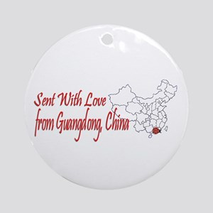 Guangdong Love Ornament (Round)
