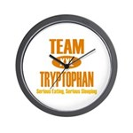 Team Tryptophan Wall Clock