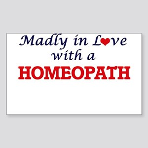 Madly in love with a Homeopath Sticker