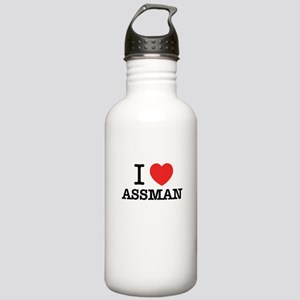 I Love ASSMAN Stainless Water Bottle 1.0L