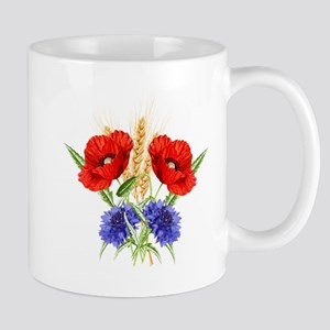 Ukrainian flowers Mugs
