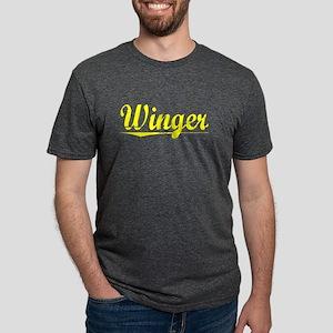 Winger, Yellow Women's Dark T-Shirt