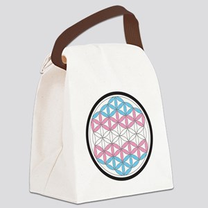 tranSacred geometry Canvas Lunch Bag