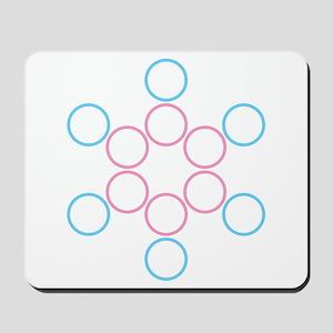 tranSacred circles Mousepad