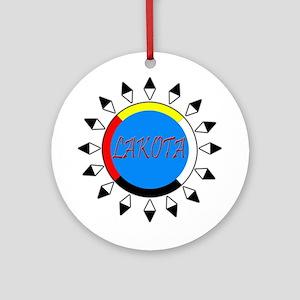 Lakota Ornament (Round)