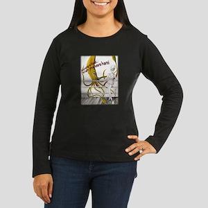 Squid Girl Women's Long Sleeve Dark T-Shirt