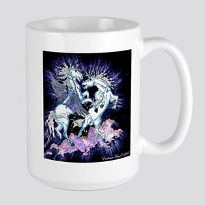 Clash of the Pegasi Large Mug