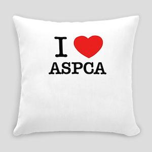 I Love ASPCA Everyday Pillow