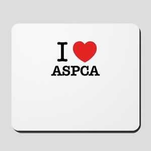 I Love ASPCA Mousepad