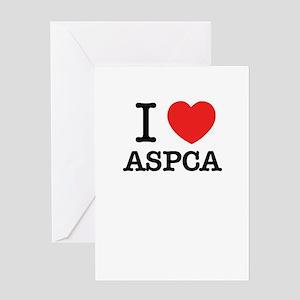 Aspca greeting cards cafepress i love aspca greeting cards m4hsunfo