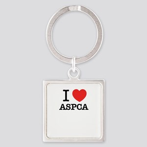 I Love ASPCA Keychains