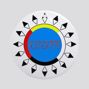Kickapoo Ornament (Round)