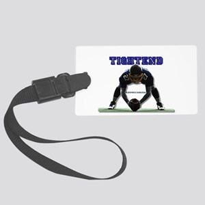 tightend bending over Luggage Tag