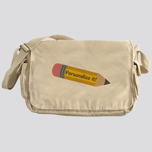 PERSONALIZED Cute Pencil Messenger Bag