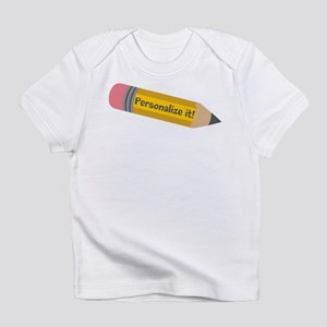 PERSONALIZED Cute Pencil Infant T-Shirt