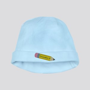 PERSONALIZED Cute Pencil baby hat
