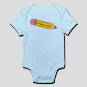 PERSONALIZED Cute Pencil Body Suit