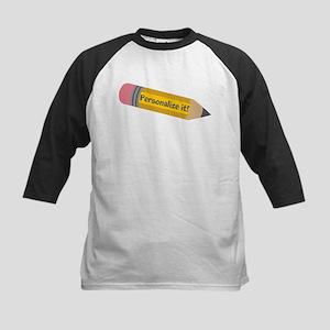 PERSONALIZED Cute Pencil Baseball Jersey