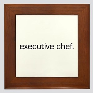 Executive Chef Framed Tile