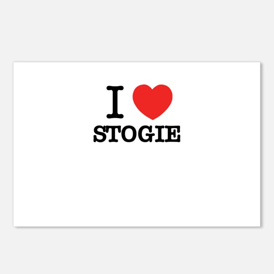I Love STOGIE Postcards (Package of 8)