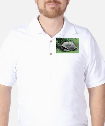 If I went any faster I'd be smokin'! To Golf Shirt