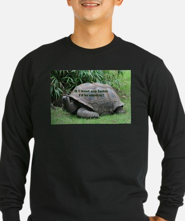If I went any faster I'd be sm Long Sleeve T-Shirt