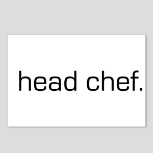 Head Chef Postcards (Package of 8)
