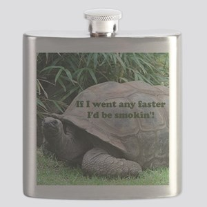 If I went any faster I'd be smokin'! Tortois Flask