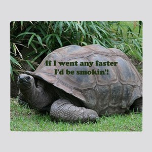 If I went any faster I'd be smokin'! Throw Blanket
