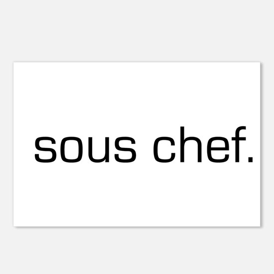 Sous Chef Postcards (Package of 8)