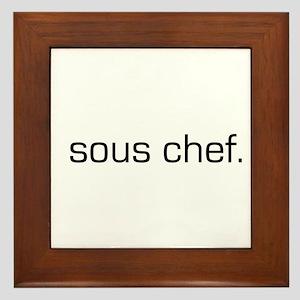Sous Chef Framed Tile
