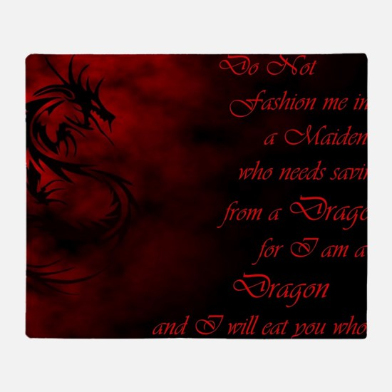 Unique Dracula Throw Blanket