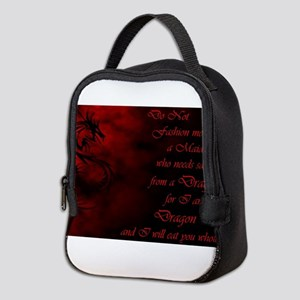 Do Not Fashion Me Into a Maiden Neoprene Lunch Bag