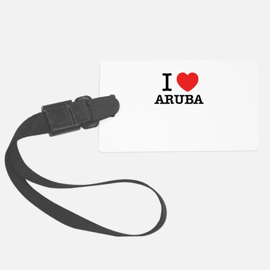 I Love ARUBA Large Luggage Tag