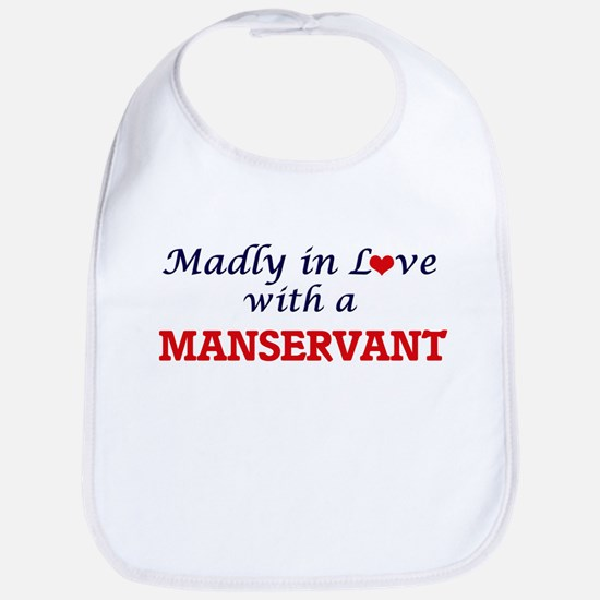 Madly in love with a Manservant Bib