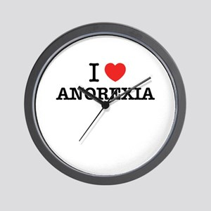 I Love ANOREXIA Wall Clock