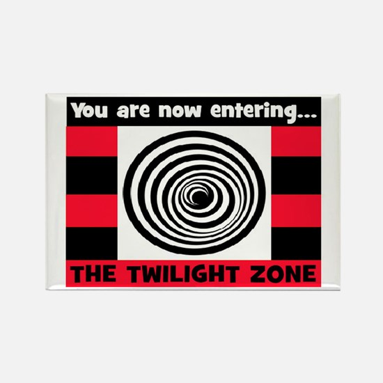 YOU ARE NOW ENTERING #2 Rectangle Magnet