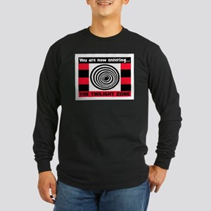 YOU ARE NOW ENTERING #2 Long Sleeve Dark T-Shirt