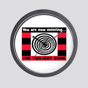 YOU ARE NOW ENTERING #2 Wall Clock