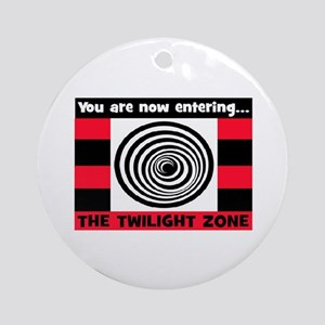 YOU ARE NOW ENTERING #2 Ornament (Round)