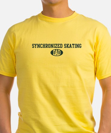 Synchronized Skating dad T-Shirt