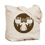 Double Sided Moose Market Bag