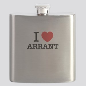 I Love ARRANT Flask